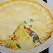 Easy Pot Pie - Great for Freezing