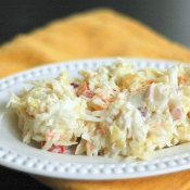 {Sweet Summer Sampling Recipe} Pineapple Coleslaw #SweetSS