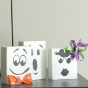 Fun Faced Ghost Blocks