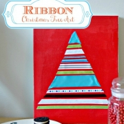 Craft Lightning–Ribbon Tree Canvas Art
