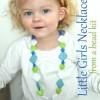Handmade Little Girls Necklace