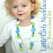 Handmade Little Girls Necklace