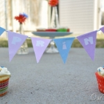 """""""Spring"""" Cupcake banner & Printable"""