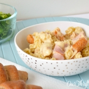 {recipe} Chicken Cordon Bleu Pasta Bake
