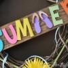 Wreath Idea for Summer