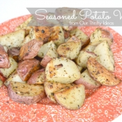 {Recipe} Seasoned Potato Wedges