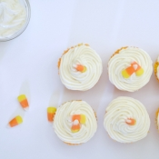 {Recipe} Candy Corn Cupcakes