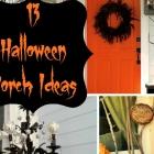 {Round-up} Halloween Porch Ideas
