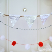 {Tutorial} Making a Holiday pendant banner with #GiveExtraGum