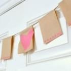 valentine DIY pendant banner