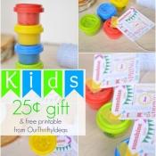 Free Spring Printable & Kids $.25 gift