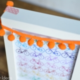 Free Rainbow Bicycle Printable