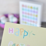 Easter Chick Rainbow Printable