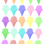 Ice Cream - Rainbow Printable