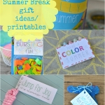 Summer Break - FREE printables Round-up