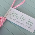 Jumping for Joy - Summer Printable
