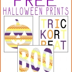 Washi Tape Halloween Printables