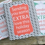Extra Special Christmas Gum Wrappers - Free Printable