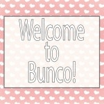 Valentine BUNCO printable pack
