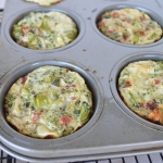 Broccoli & Sun Dried Tomato Egg Cups
