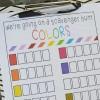 Color Scavenger Hunt - Free Printable