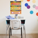Kids Homework & Craft Desk