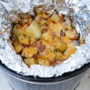Cheesy Bacon & Ranch Potatoes In The Crock Pot