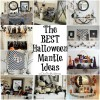 The Best Halloween Mantle Decor Ideas