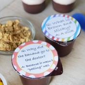 Kids Pudding Jokes Printable