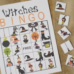Halloween Witches BINGO