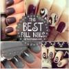 The BEST Fall Nail Art Ideas
