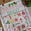 Christmas BINGO printable game