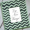 DIY Stenciled Frame + Free Inspirational Printable