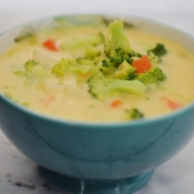 Broccoli Cheesy Potato Soup