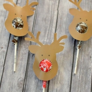 Reindeer Suckers Free Printable - Kids Gift