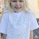 Painted Easter Bunny T-shirt Tutorial