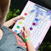 Flower Scavenger Hunt - Free Printable Game