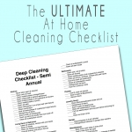 DEEP Clean Your House For a Move or Yearly Check