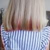 Temporary Hair Dye using Kool-Aid