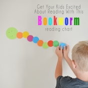 Bookworm Reading Chart - Track Your Child's Reading Progress