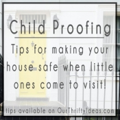 Child Proofing Your House for Visitors
