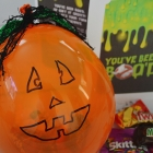 You've Been Boo'd - Pumpkin Balloon Filled With Candy