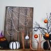 Halloween String Art - Faux Wood Sign Tutorial