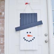 Seasonal Character Door Hanger - Tutorial