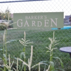 Custom Garden Sign made with Cricut Maker