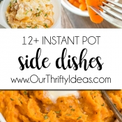 12+ Instant Pot Side Dish Recipes!