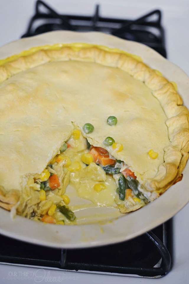 turkey pot pie that you can freeze