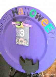 {Tutorial} Halloween Count Down Plate