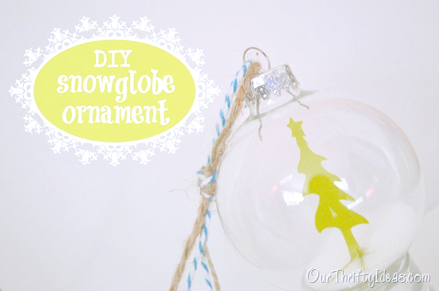 DIY Snowglobe Ornament