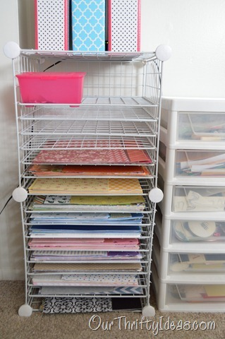 a great way to organize paper